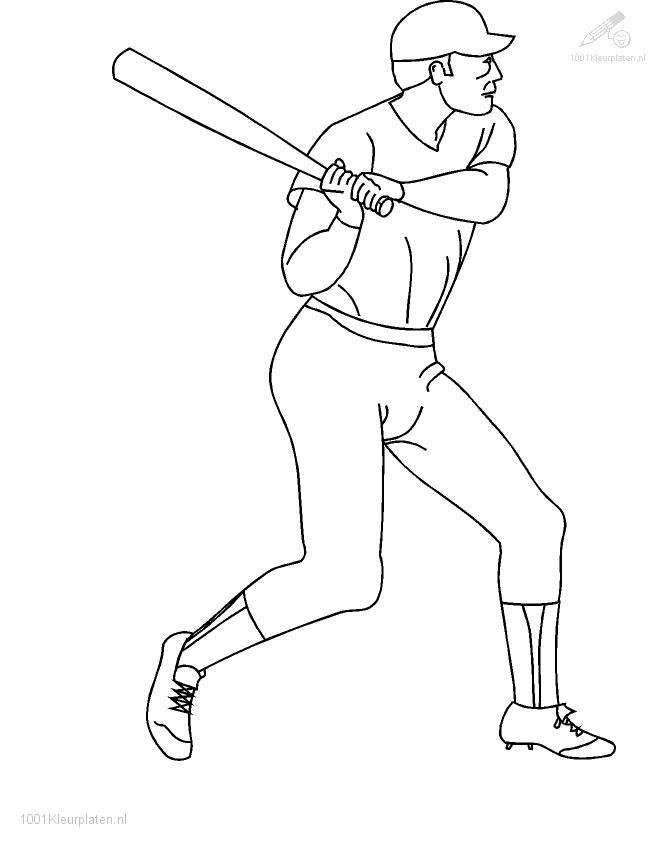 Yankees baseball coloring pages