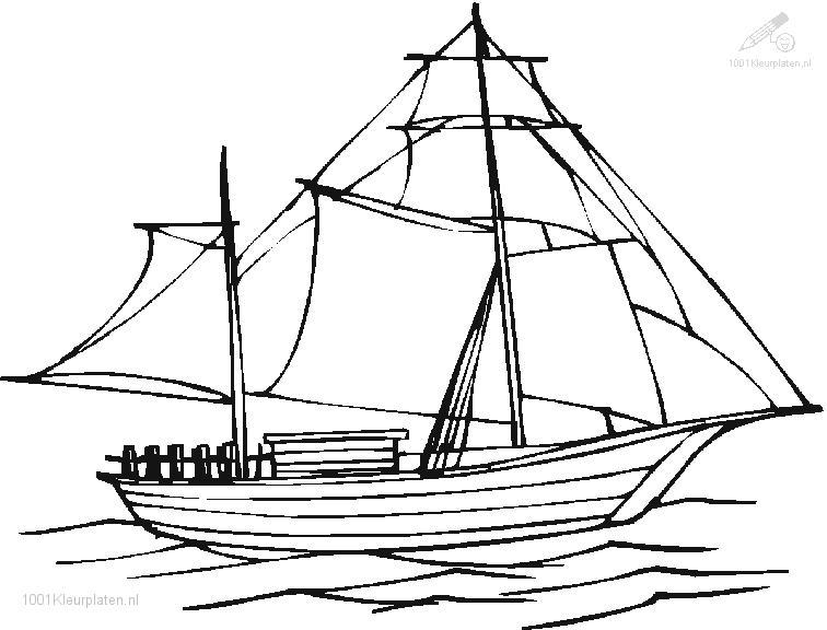 Coloringpage: boat-coloring-page-2