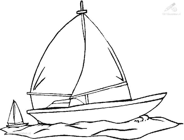 Coloringpage: boat-coloring-page-3