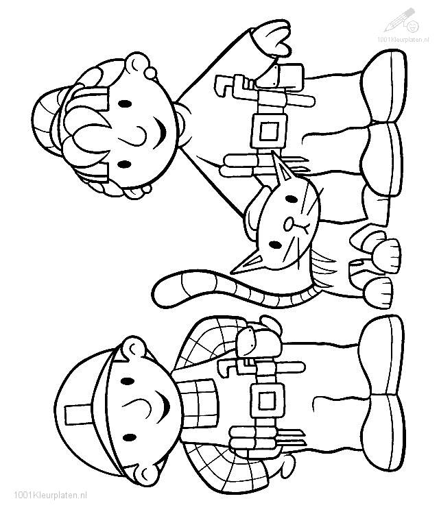 Bob the Builder Coloring Page
