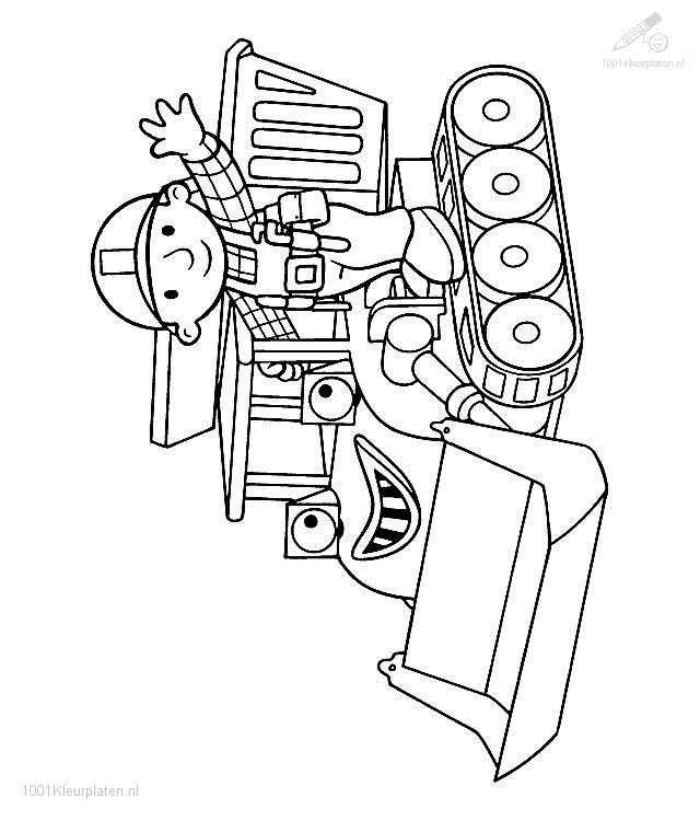 Builders free colouring pages for Free coloring page maker