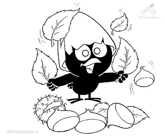 Calimero Coloring Page