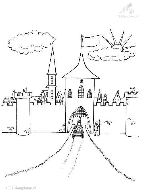 Coloringpage: castle-coloring-page-10