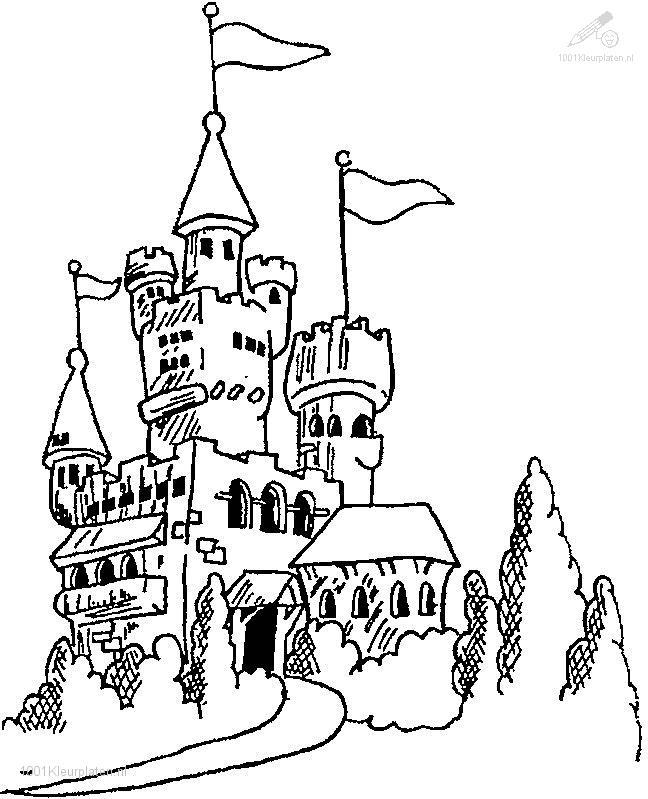 Coloringpage: castle-coloring-page-12