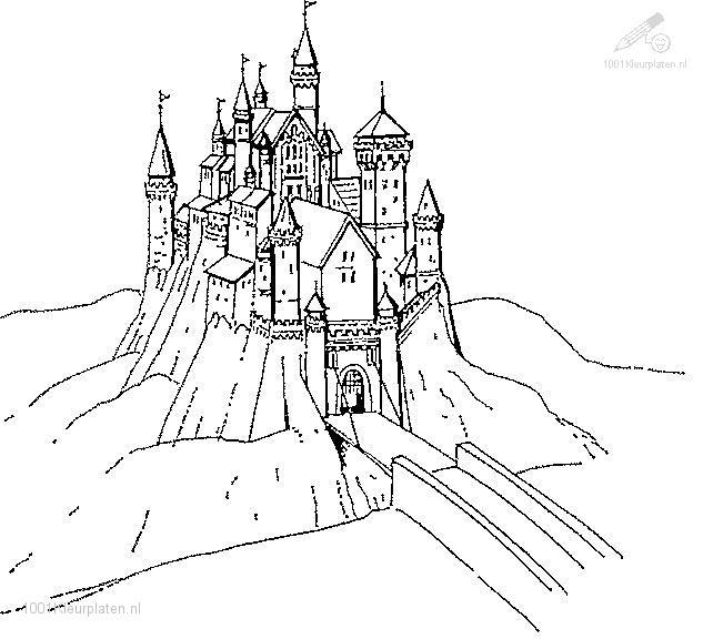 Coloringpage: castle-coloring-page-5