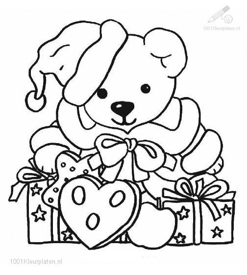 Bear with Christmas Presents