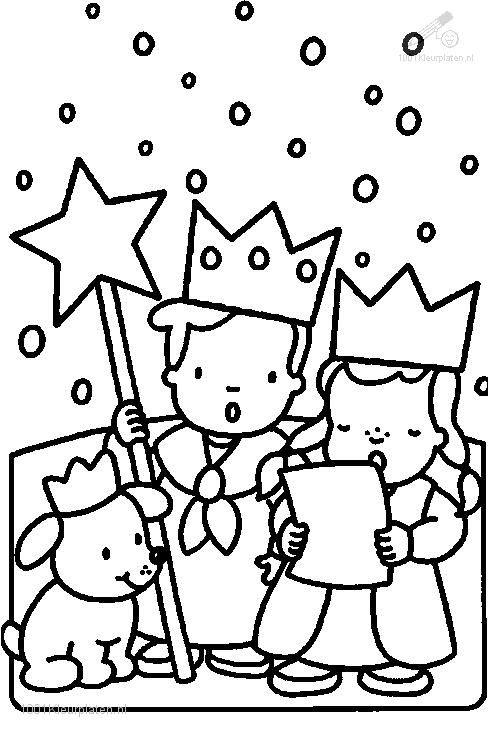 Coloring Page 3 Kings