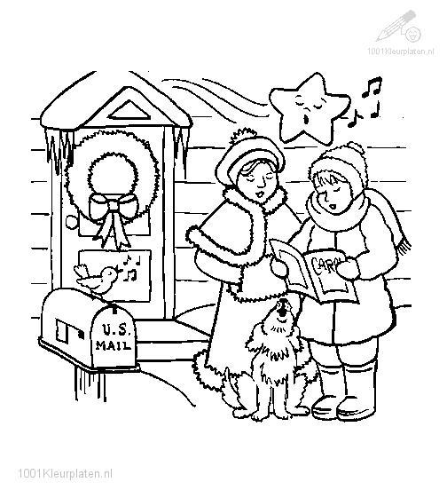 singing a christmas carol