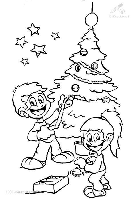 Christmas Tree on a sled