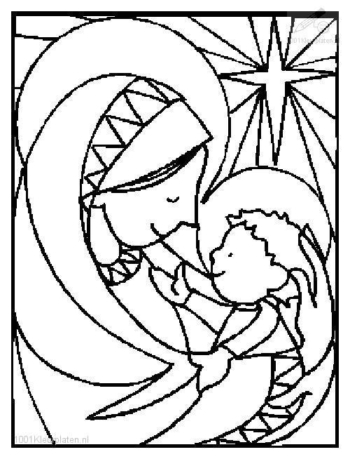 Coloring Page Jesus