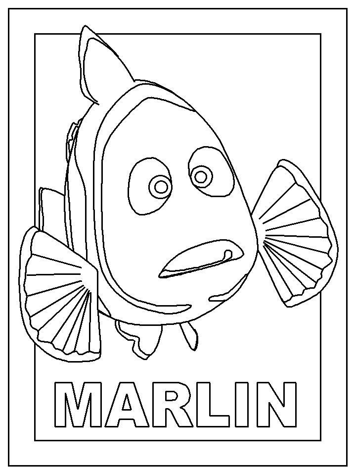 Coloring Page Marlin