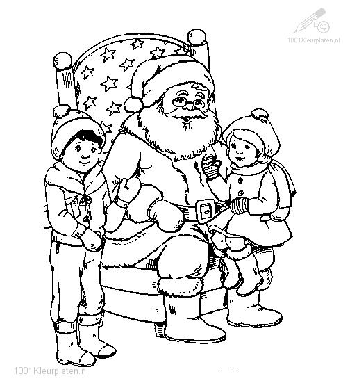 Coloring Page Santa Claus