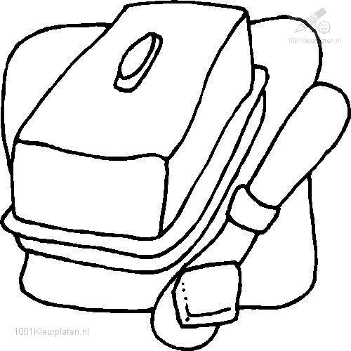 Coloring Page butter