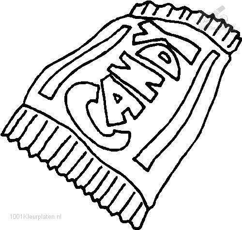 Coloring Page Candy