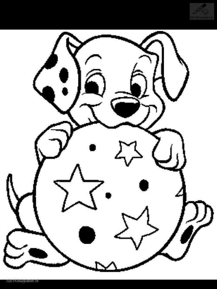 Dalmatians Coloring Page