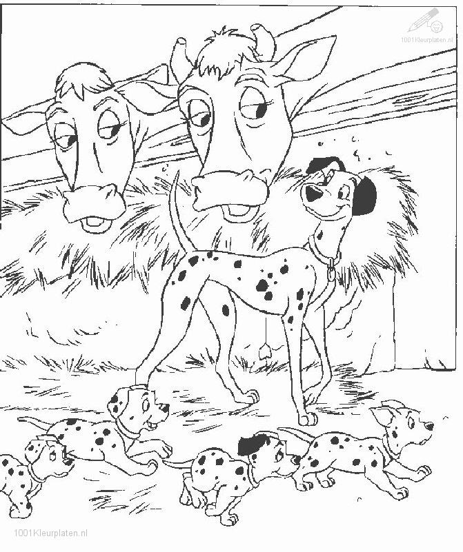 Number 1 Or One Dog coloring page  Free Printable