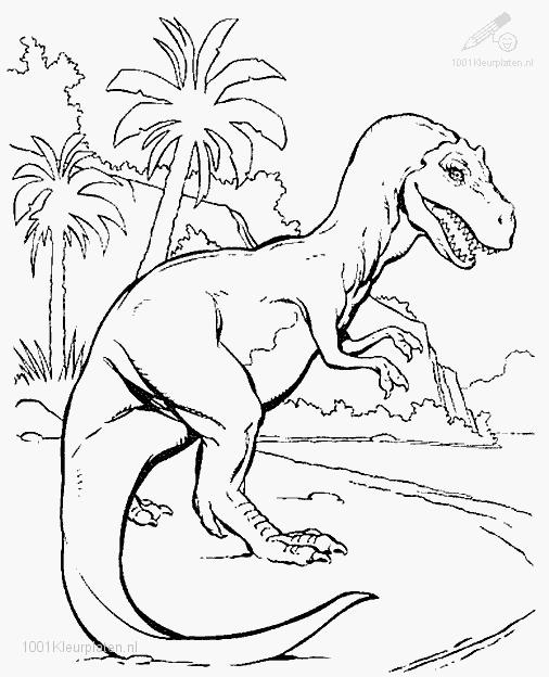 Coloring Pages Of Prehistoric Animals : Free coloring pages of jurassic dinosaurs