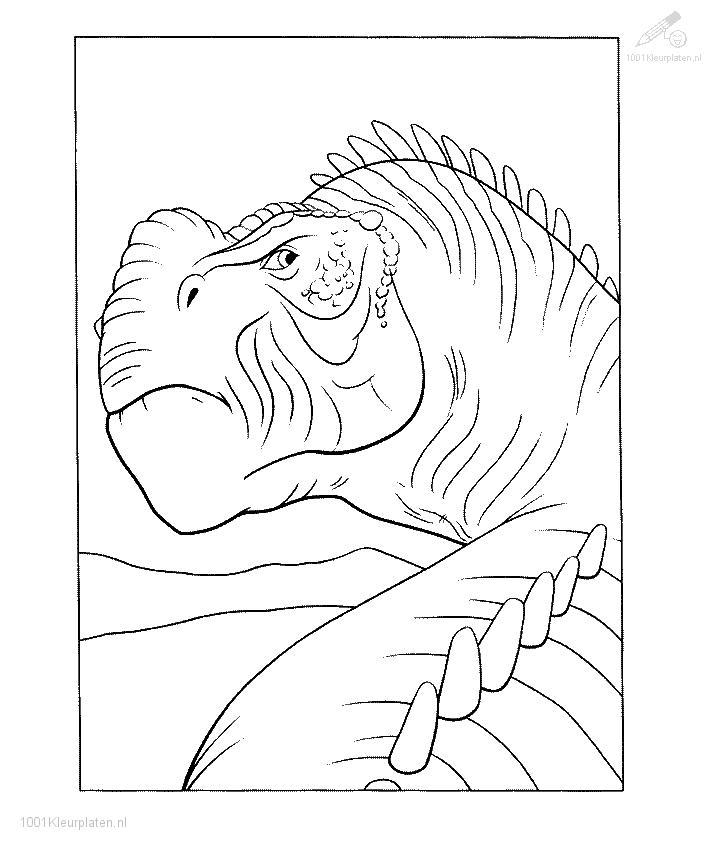 Coloringpage: dinosaur-coloringpage-4
