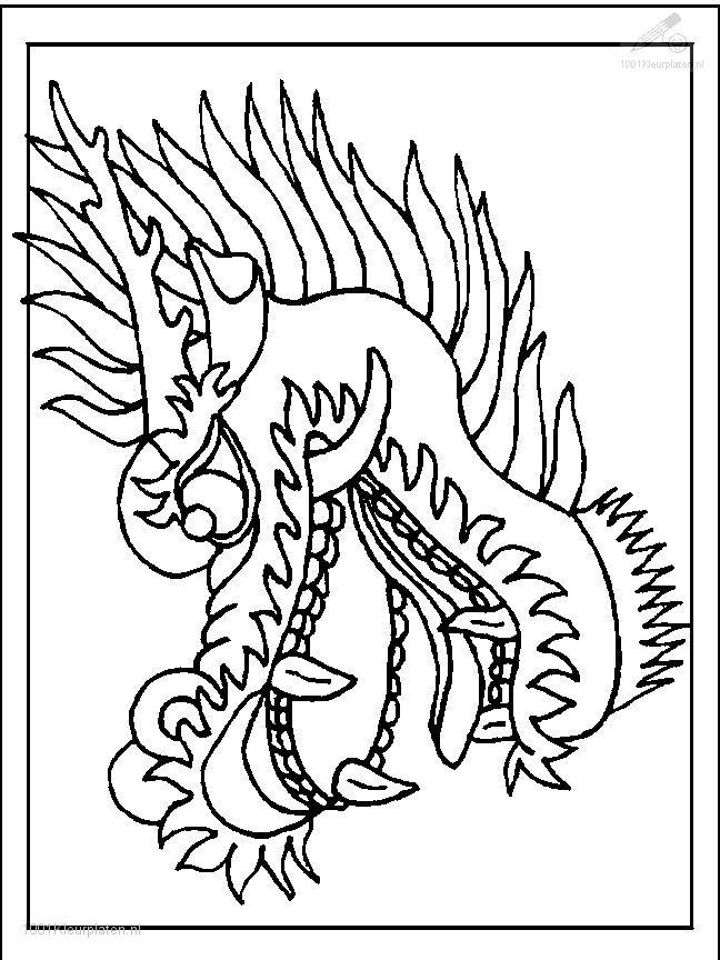 Dragon Coloring Page