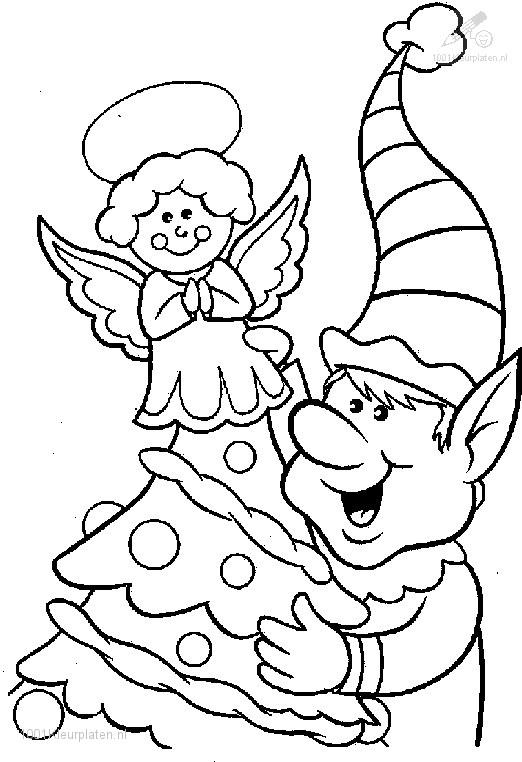 Free christmas fractions coloring pages