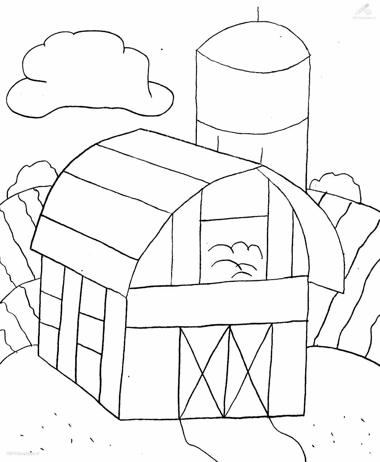 1001 coloringpages buildings u003e u003e farm u003e u003e farm coloring page