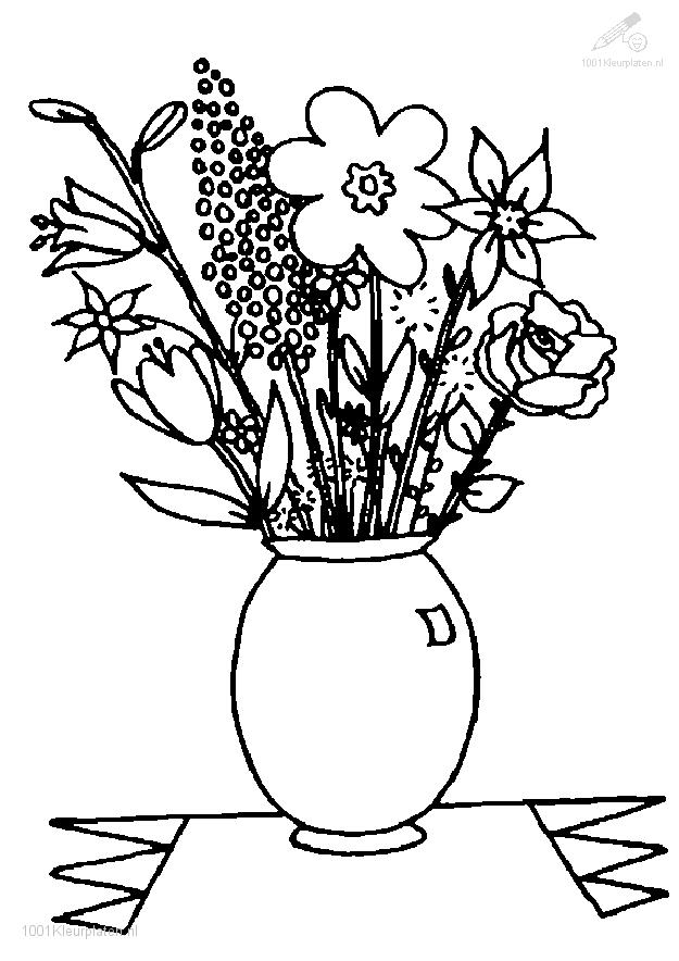 Coloringpage: flower-coloring-page-8