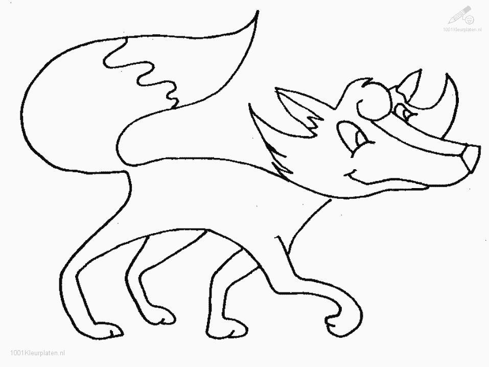fox in socks Colouring Pages (page 2)