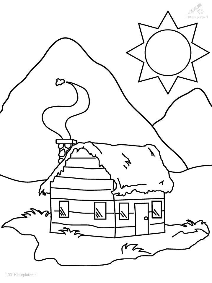 Coloringpage: house-coloring-page-2