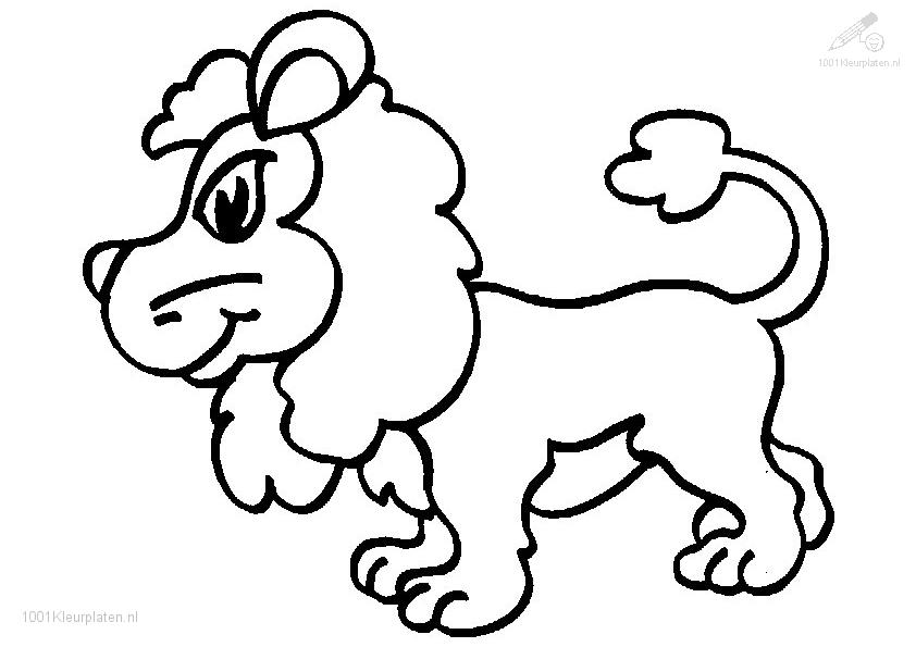lion coloring pages realistic baby | Cute Baby Lion Coloring Pages Sketch Coloring Page