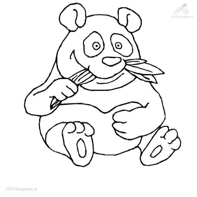 panda bears coloring pages - photo#23