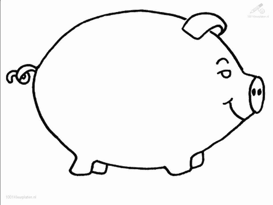 Coloringpage: pig-coloring-page-4