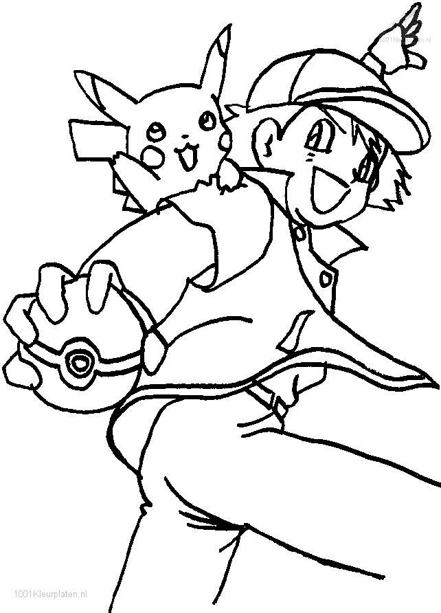 Ninjago ash coloring pages for Full size pokemon coloring pages