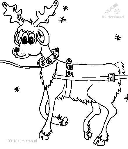 Rudolph The Red Nosed Reindeer Coloring Pictures