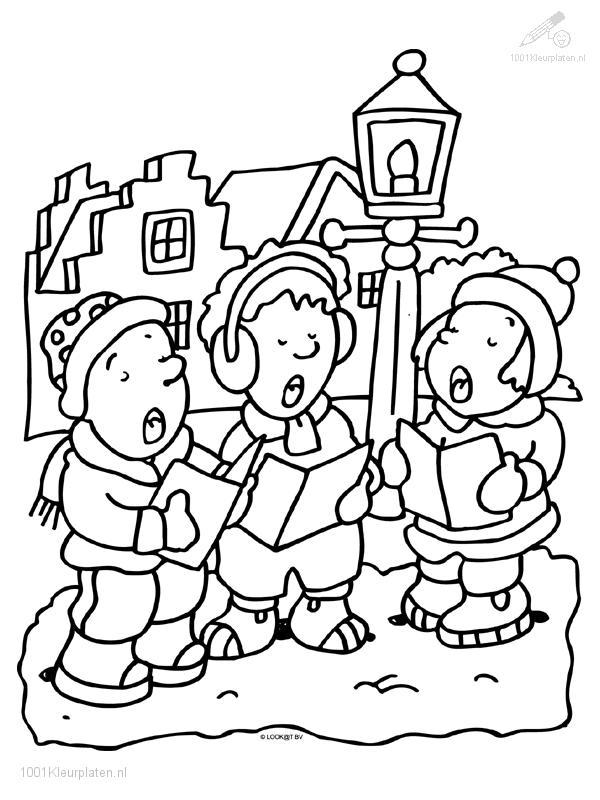 Singing Christmas Chorus