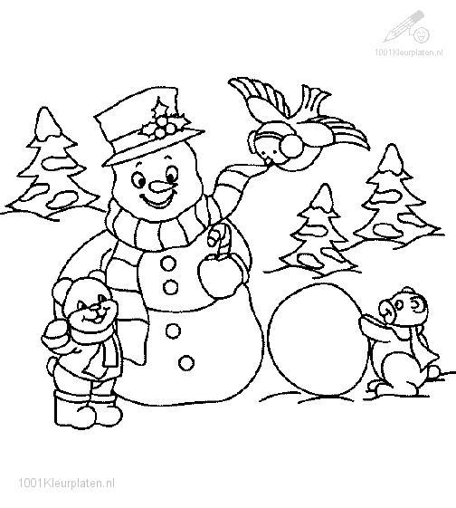 Coloringpage: snowman-coloring-pages-16