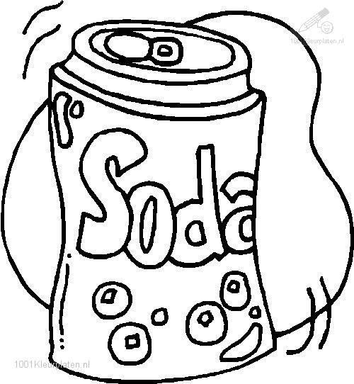 soda coloring pages - photo#1