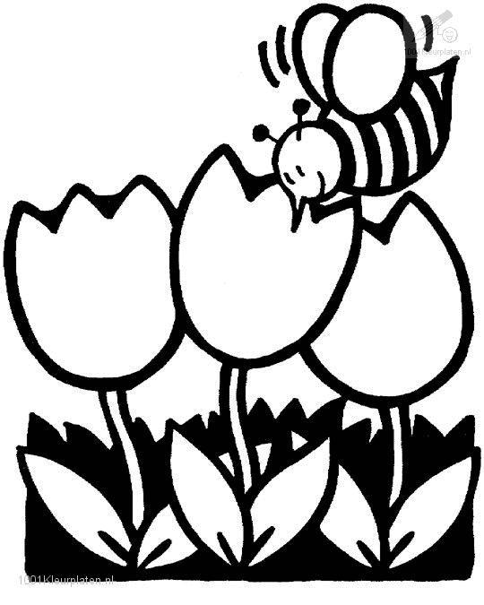 Spring Coloring Page