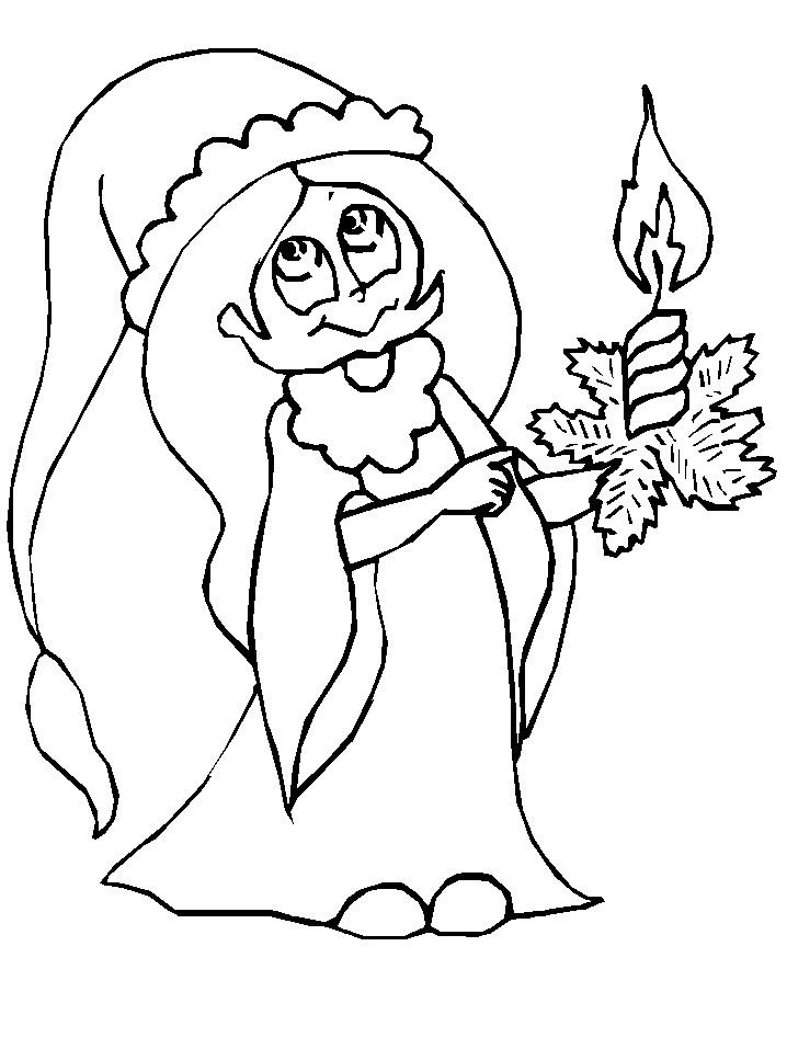 Three Wise Men Coloring Page