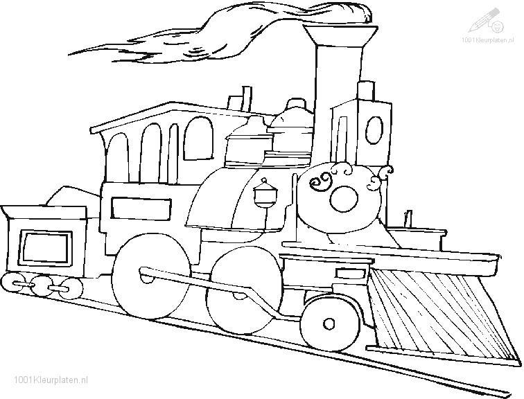 railroad coloring pages - photo#23