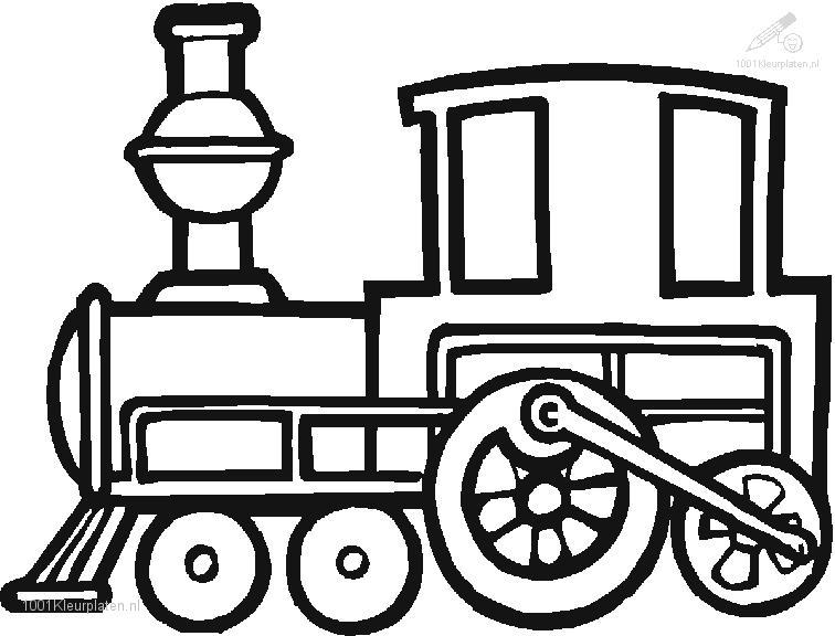 Train Coloring Page Coloring Pages Trains