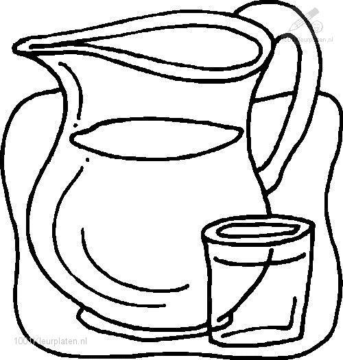 Water Coloring Page
