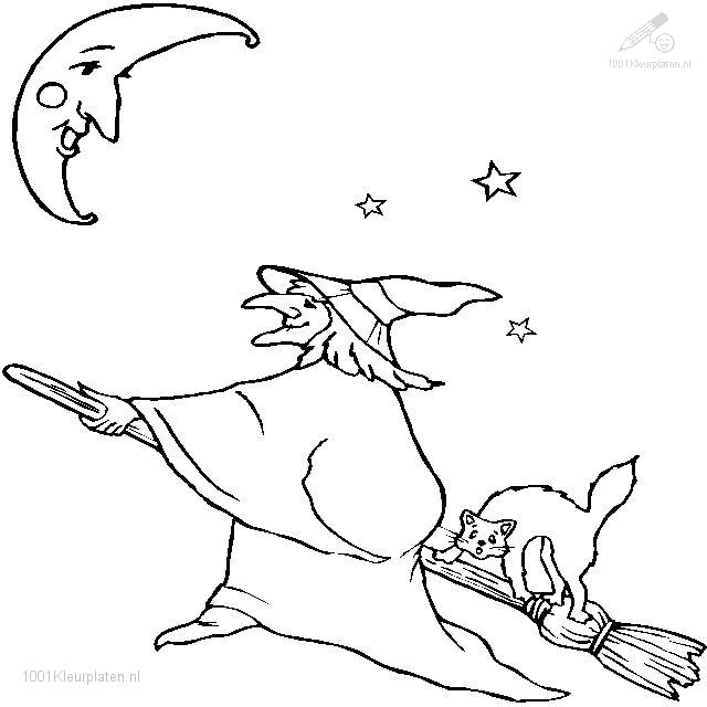 Coloringpage: witch-coloring-page-16