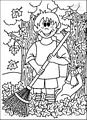 Autumn Coloring Page >> Autumn Coloring Page
