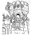 Castle Coloring Page>> Castle Coloring Page