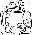 Coffee Coloring Page