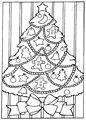 Christmas Tree Coloring Page>> Christmas Tree Coloring Page
