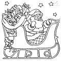 Coloring Page Santa Sled>> Coloring Page Santa Sled