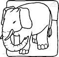 Elephant Coloring Page>> Elephant Coloring Page