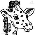 Giraffe Coloring Page>> Giraffe Coloring Page