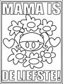 Mothersday Coloring Page